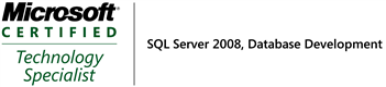 MCTS: SQL Server 2008, Database Development