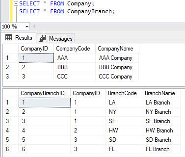 T-SQL: 改行を挟んで複数行の文...