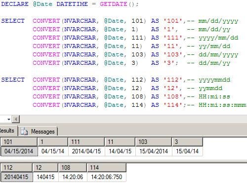 Sql server データ 型